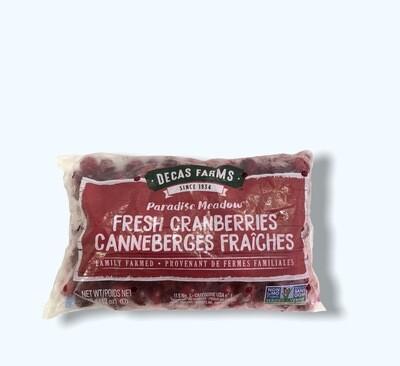 FRESH CRANBERRIES DECAS FARMS