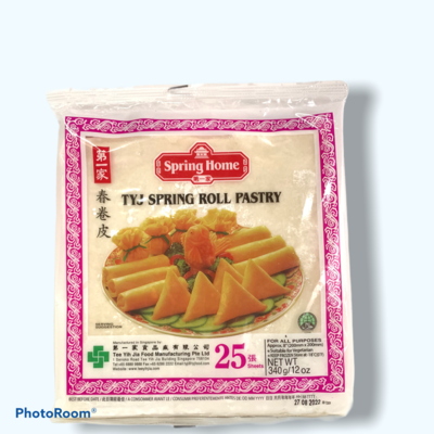 SPRING ROLL PASTRY SPRING HOME 25 SHEETS