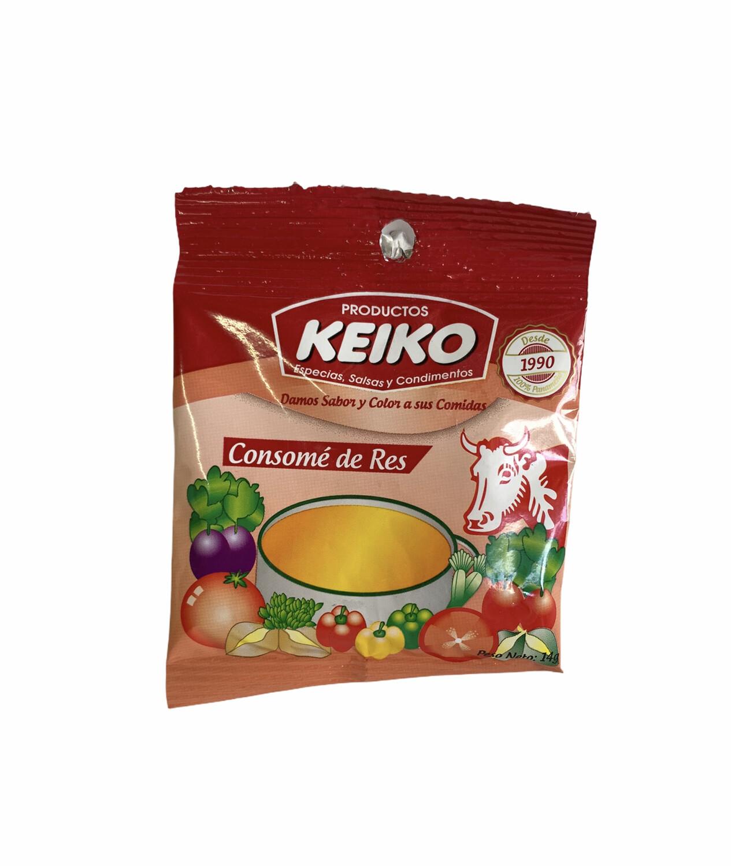 CONSOMÉ DE RES KEIKO