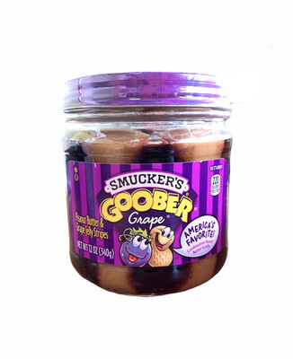 mantequilla de maní y gelatina de uva GOOBER SMUCKER'S 340g