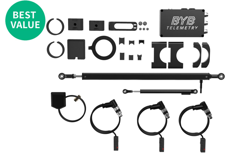 BYB Telemetry v2.0 - MTB Full kit