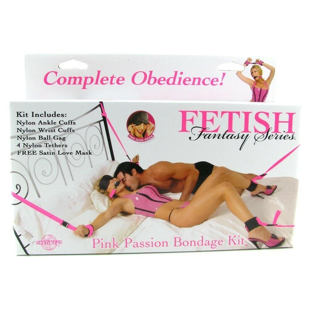 Fetish Fantasy Series - Pink Passion Bondage Kit