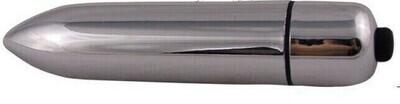 Silver Female Masturbation Bullet Vibrator