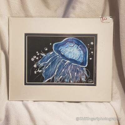 Moon Jelly (Horizontal)