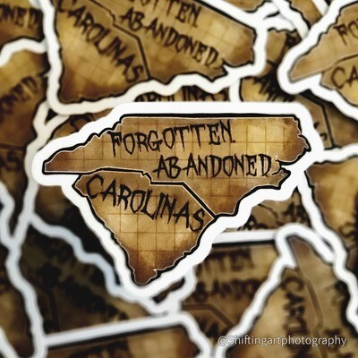 Forgotten. Abandoned. Carolinas.