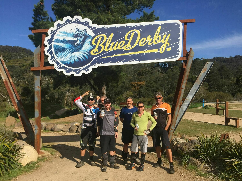Hit Bikes Blue Derby Tour - Starts April 5, 2021