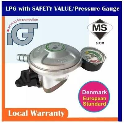 GTI Regulator (with hose & clip)