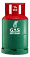 Petronas 14KG Gas Cylinder