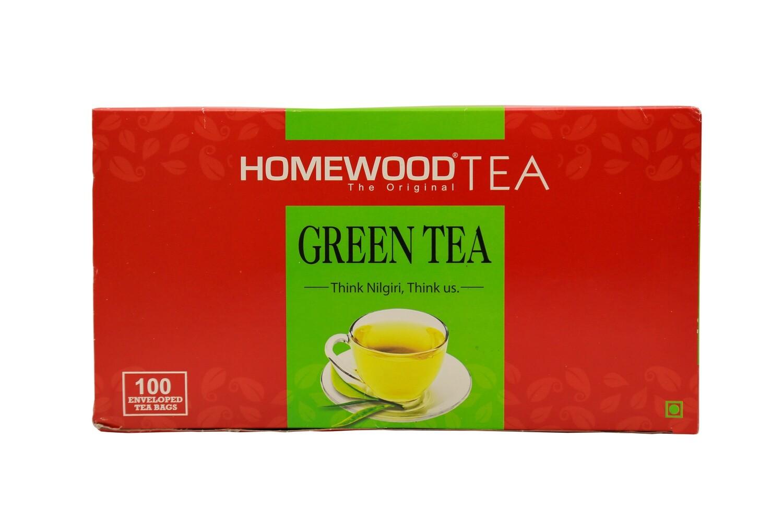 Homewood Green Tea Dip Bags (100 bag carton pack)