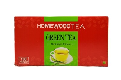 Homewood Green Tea Dip Bags (100 bag carton pack)