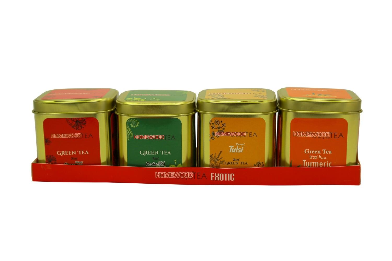 Homewood Green Teas (Gift Pack - 4-in-1)