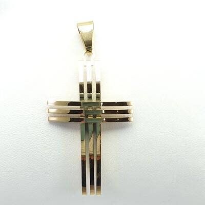 Gold tone Cross