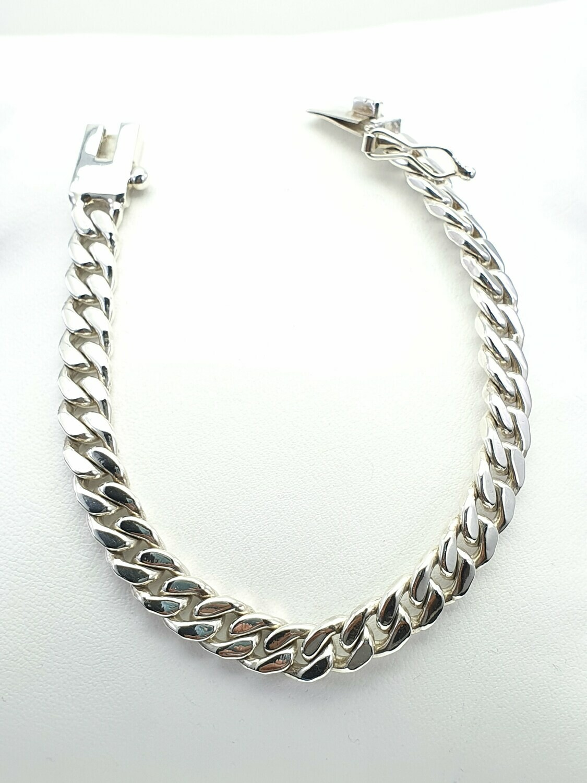 Large Curb Bracelet