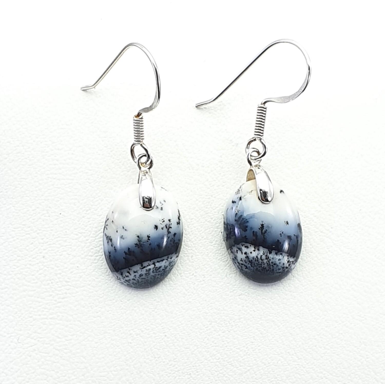 Dendritic Opalite Earrings