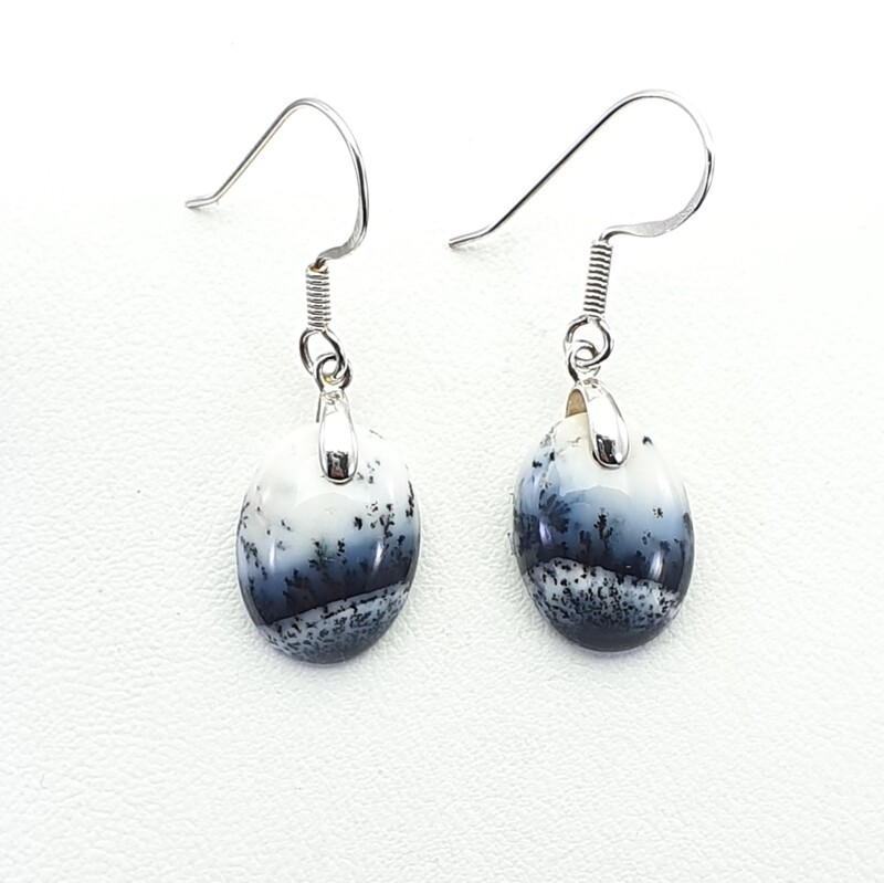 Dendritic Opalite Earrings
