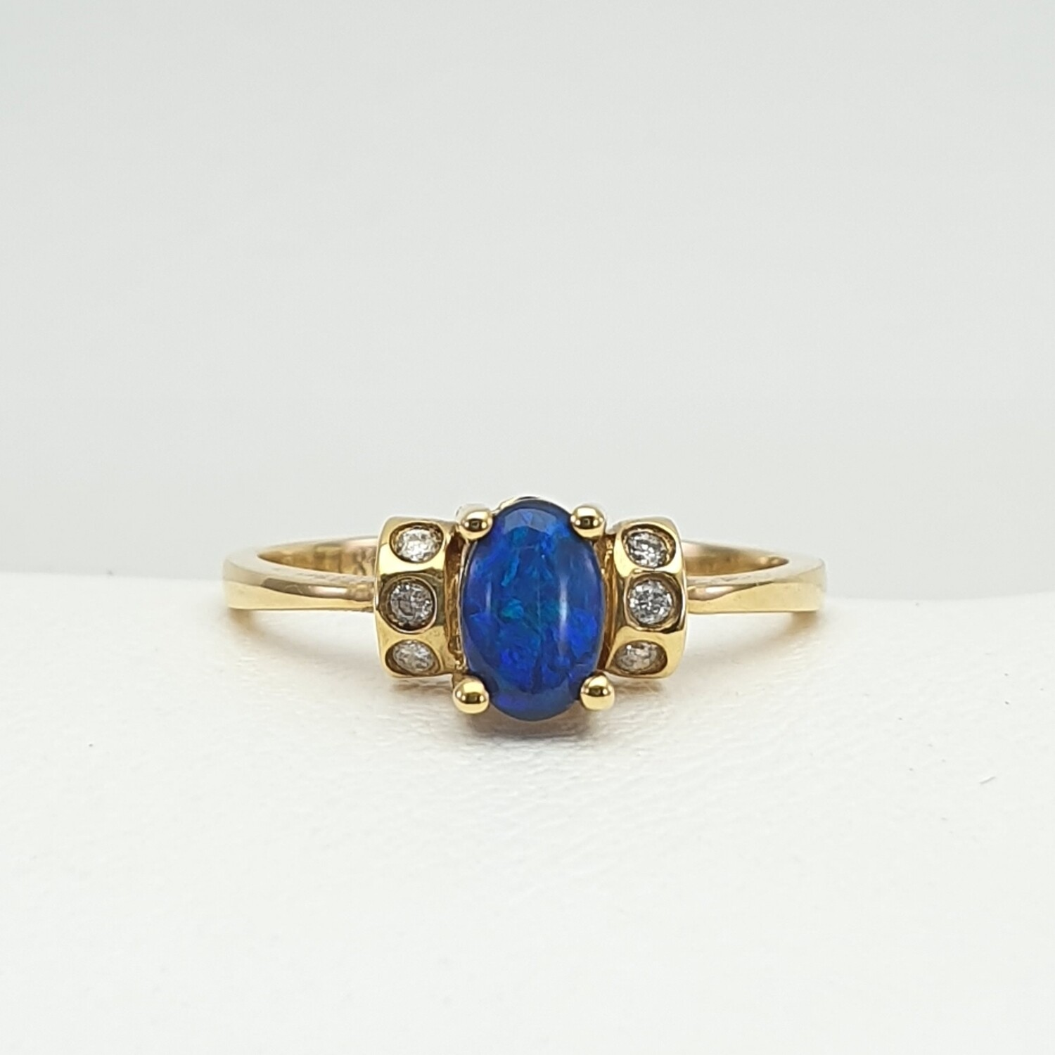 Ring, Opal, Gold