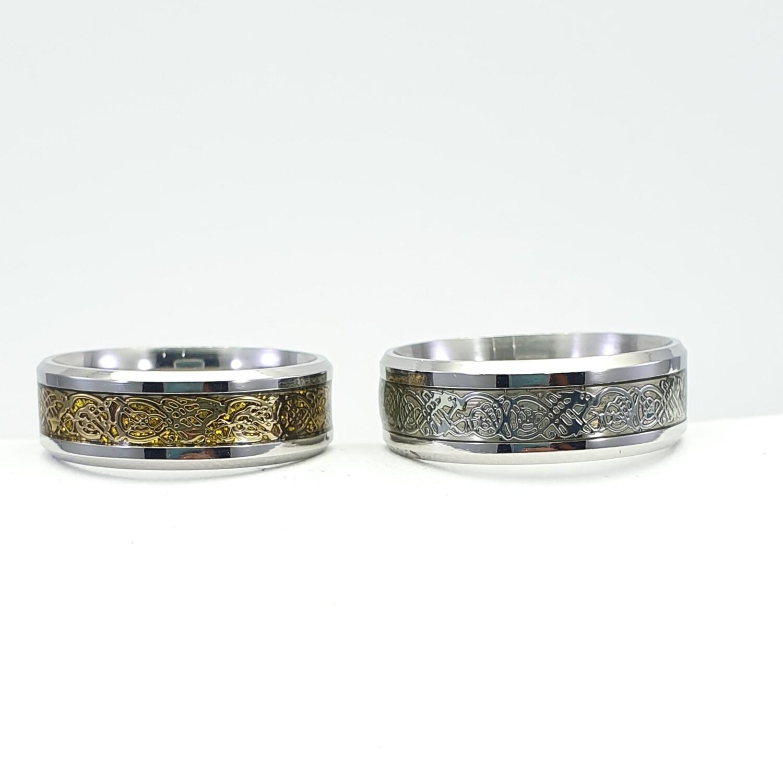 Rings , stainless steel