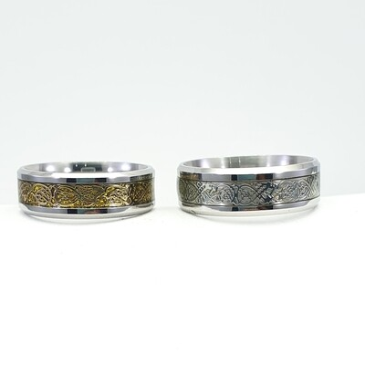 Rings , stainless steel