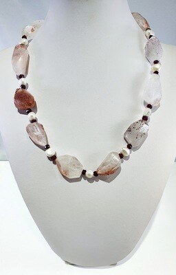 Strawberry Quartz Necklace