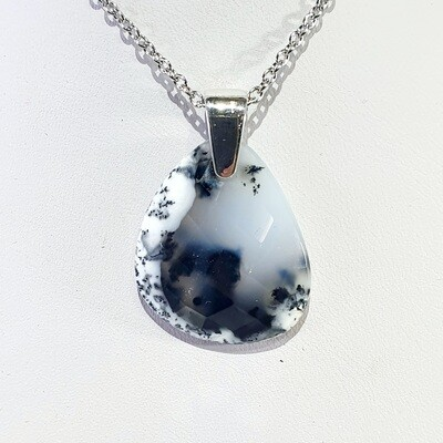 Dendritic Opalite pendant