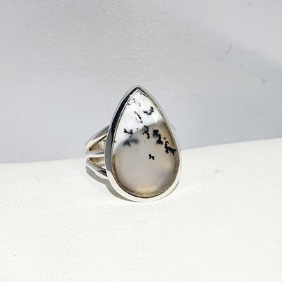 Dendritic Opalite ring