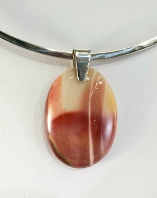 Mookaite pendant