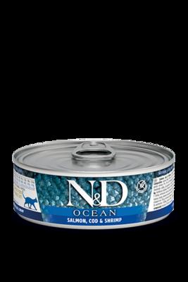 Farmina Cat Grain Free Ocean Salmon Cod & Shrimp