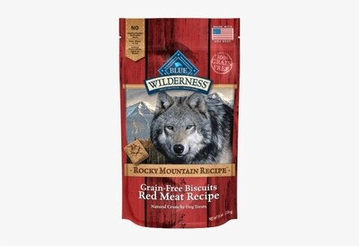 Blue Buffalo Wilderness Trail Treats Biscuits Red Meat Dog