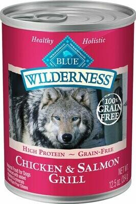 Blue Buffalo Wilderness Salmon/ChickenDog Can