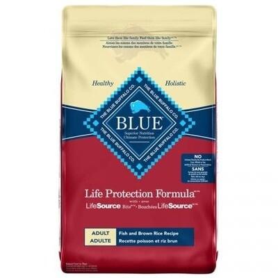 Blue Buffalo Adult Fish/Brown Rice Dog