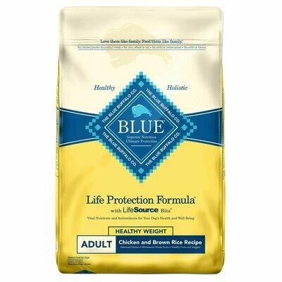 Blue Buffalo Healthy Weight Chicken/Brown Rice Dog