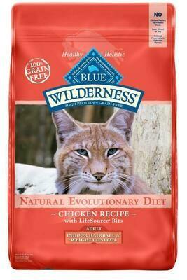 Blue Buffalo Wilderness Adult Indoor Chicken Cat