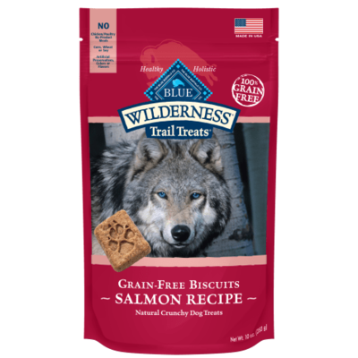 Blue Buffalo Wilderness Salmon Biscuit Dog Can