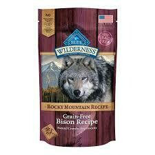 Blue Buffalo Wilderness Red Meat Recipe Trail Treats Biscuits Bison Dog