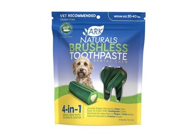 Ark Naturals Breathless Chewable Brushless Toothpaste Md/Lg 18 Ct.