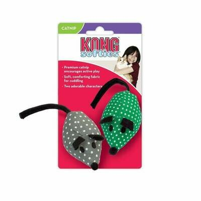 Kong Catnip Mice Cat Toy 2-Pack