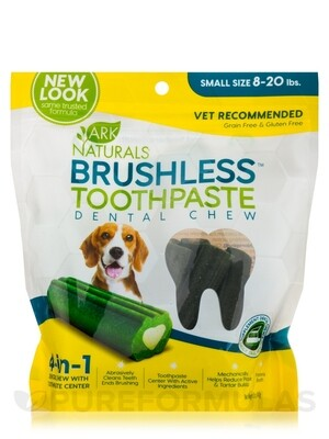Ark Naturals Breathless Chewable Brushless Toothpaste Sm/Md 12 Ct.