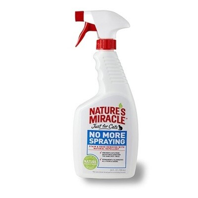 Nature's Miracle Just For Cats No More Spraying 24oz