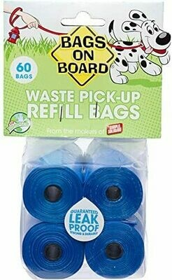 Bramton Company Bags On Board 60 Bag Refill Pk.