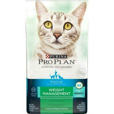 Purina Pro Plan FOCUS Weight Management Turkey & Egg Cat - 6lb