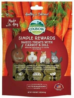 Oxbow Simple.Reward Carrot/Dill 3Oz
