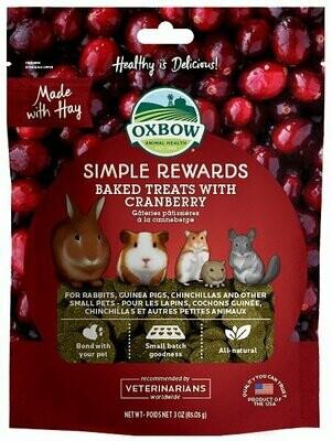 Oxbow Simple Reward Cranberry 3Oz