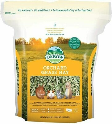 Oxbow Orchard Grass 15 Oz. Bag