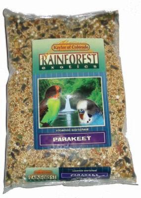 Rainforest Parakeet 2 Lb
