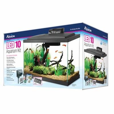 Aqueon 10 gallon Basic Aquarium Kit
