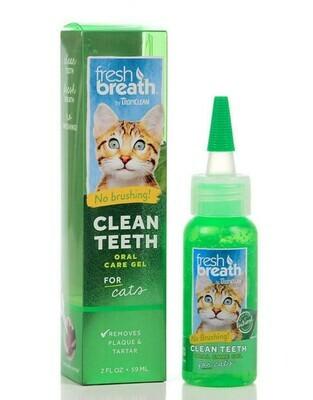 Fresh Breath Cat Clean Teeth Gel 2oz