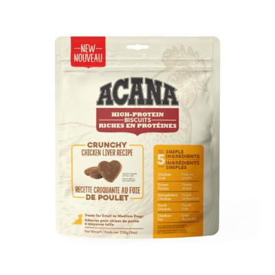Acana Chicken Liver Small Treat 9oz Crunchy Biscuits