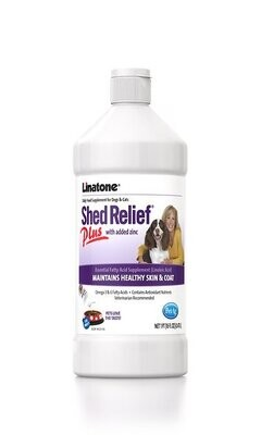 PetAg Linatone Shed Relief Plus with Zinc Dog & Cat Supplement