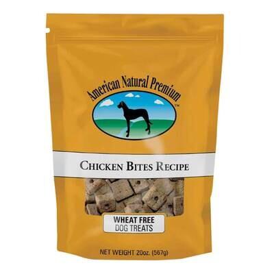 American Natural Premium Chicken Bites Recipe Dog Treats, 20 Oz