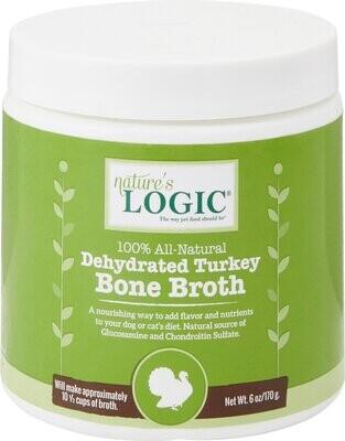 Nature's Logic Dehydrated Turkey Bone Broth 6oz
